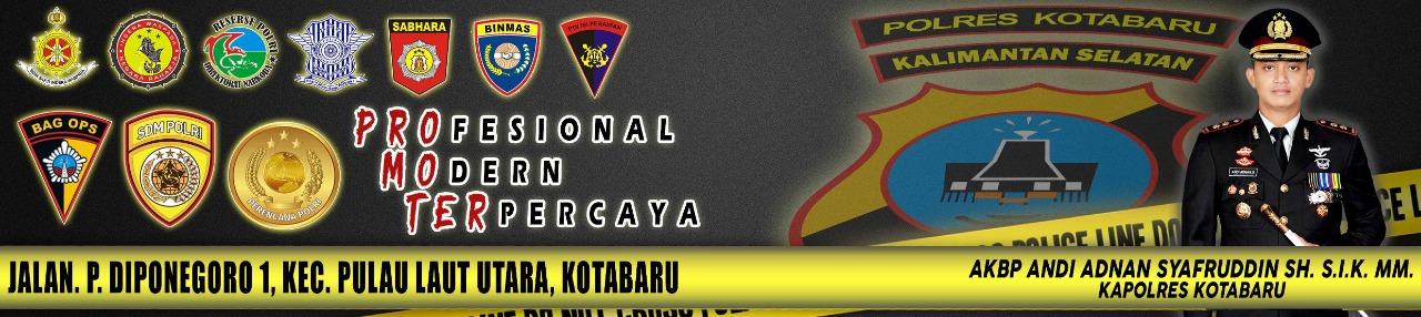 web portal polres kotabaru